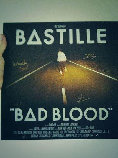 bastille signed vinyl :) HAPPPPPYYYY!