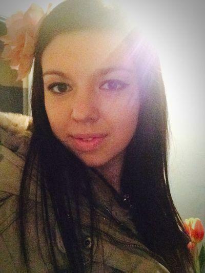 Girl Face Selfie Selfportrait Beauty Beautiful Iphoto Flower Hello World