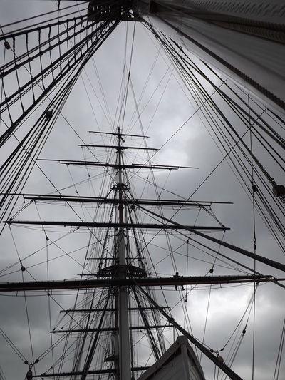 British Tea Clipper Cutty Sark Greenwich.  Engineering Full Frame History LONDON❤ Technology Pmg_lon