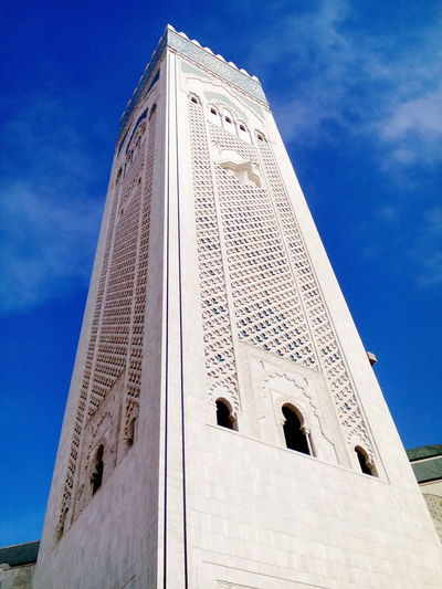 Casablanca Hassan II mosque, Morocco. Architecture History Built Structure Building Exterior Travel Travel Destinations No People Sky Hassan II Mosque Hassan Ii Mosque Landmark Travel View Casablanca Casablanca, Morocco Morocco
