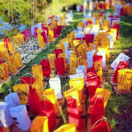 Putting the sleeves on the Lanterns! Morikami Lanternfestival Condolences NotDoneYet