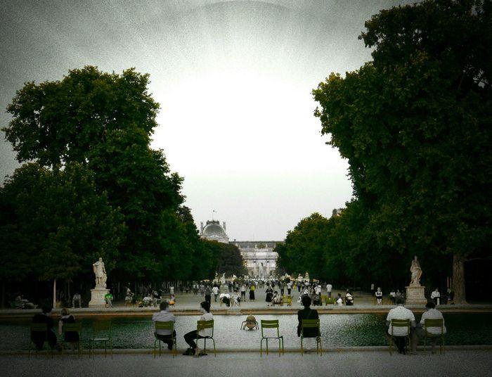 Paris, France  People Chairs Jardin Des Tuileries The Great Outdoors - 2018 EyeEm Awards