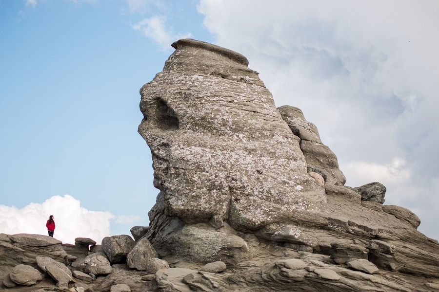 Nature Mountains Romania Travel Photography Sfinx Stone Statue