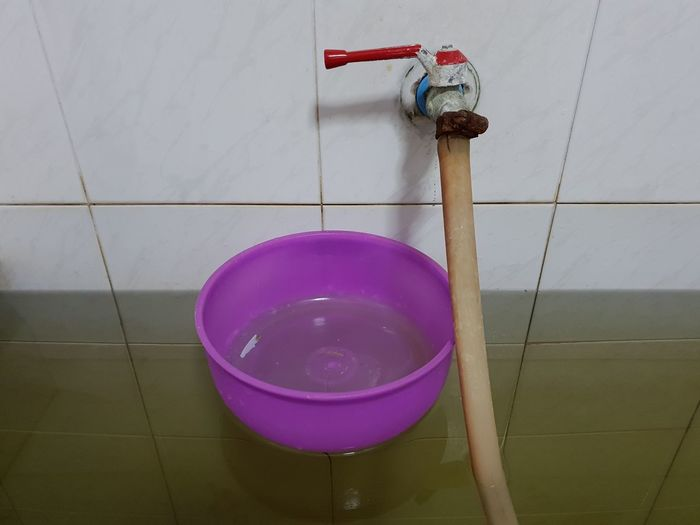 Thailand #Real #bathroom Shower Golf Club Water Pink Color Hanging Purple Close-up