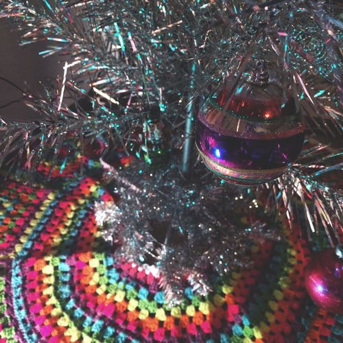 Christmas Tree '16 Christmas Christmas Decoration Christmas Tree Aluminum Christmas Tree Crochet