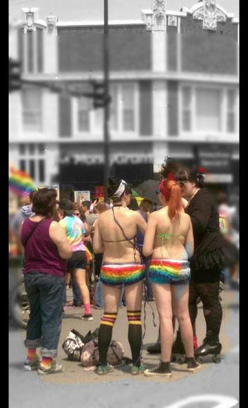 Prideparade Gay Pride Boystown Enjoying Life