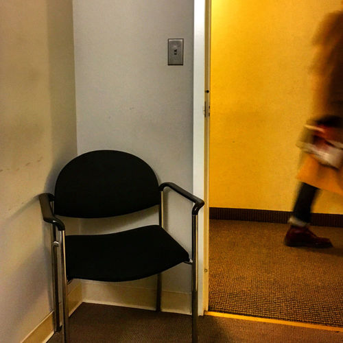 Waiting Absence Blurred Motion Chair Door Hallway Indoors  Light Switch Room Seat Transparent Wall