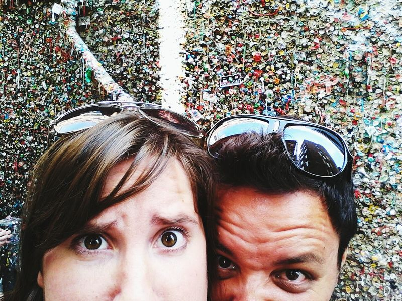Yes, that gum is nasty. Travel Road Trip Husband & Wife Yours Truly