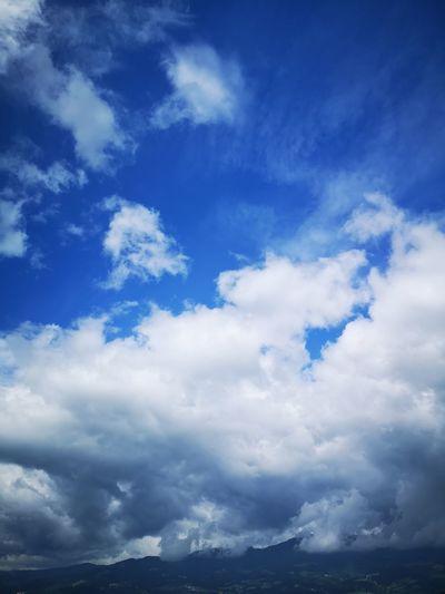 Blue Cloudscape