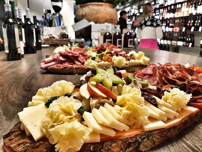 Cheese Apero Time Wine Vinothek Food Stories Food And Drink Food Freshness Indoors  Meat Healthy Eating Ready-to-eat Close-up No People