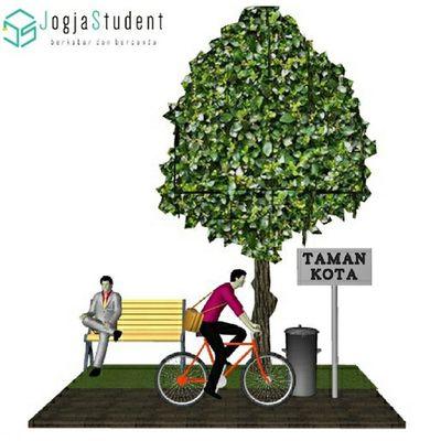Tak perlu menunggu hari lingkungan hidup untuk menjaga kelestarian Jogja. MhsJogja Ayo ikutan Lomba Go Green in The City 2015. Link: bit.ly/1oJ6Byl