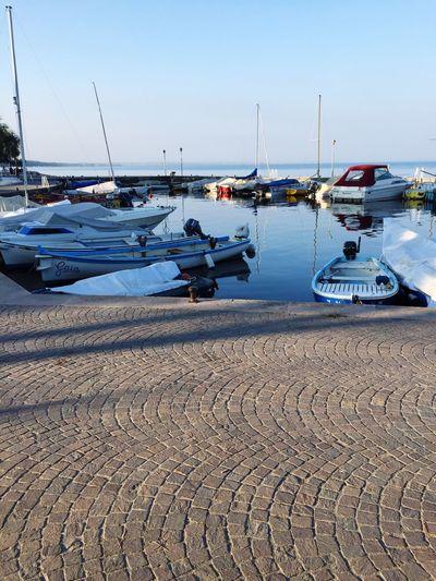 Italy❤️ Harbor Boat