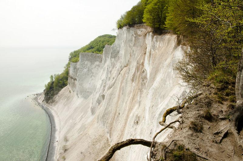 Mons Klint - Denmark Denmark Chalk Cliff Møns Klint Nature Water