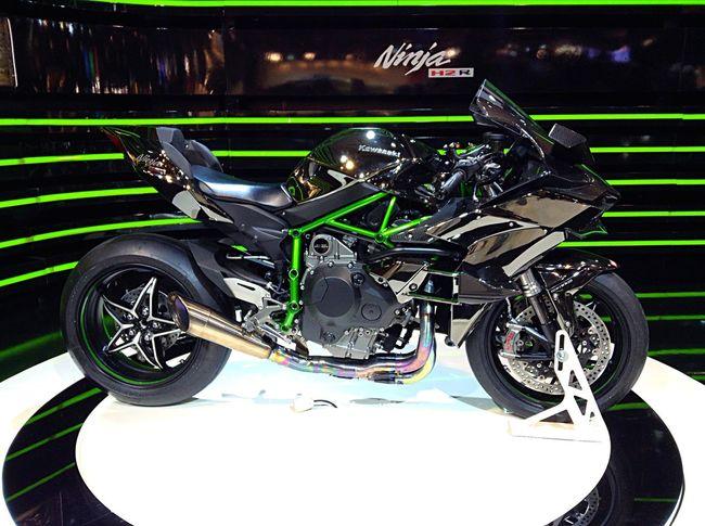 Kawasaki Ninja H2R Kawasaki Motorcycle Motorsport Autosalon2015