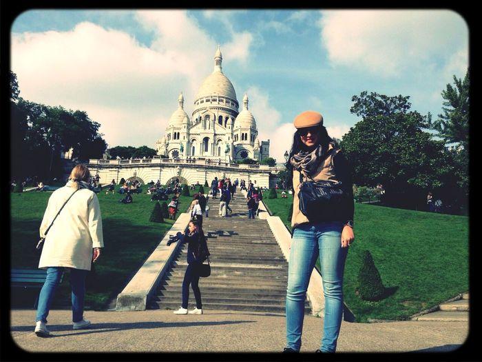 Paris Sacre Cœur Memory