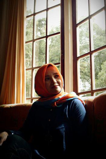 Portrait Color Portrait Morning Light Beautiful Colors VillaBosscha Malabar Hill Bandung INDONESIA
