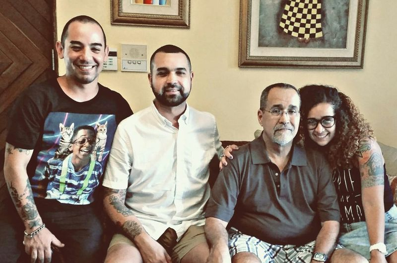 Fathersday People Puerto Rico Faces Of EyeEm People Of EyeEm People Photography Family Lil Sis Dad Lil Bro