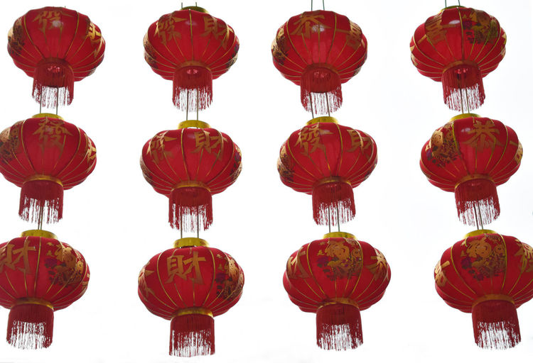 Chinese lantern Balloon Celebration China Chinese New Year Culture Cultures Decoration Flying Lantern Large Group Of Objects Mid-air New Years Around The World Red Tradition