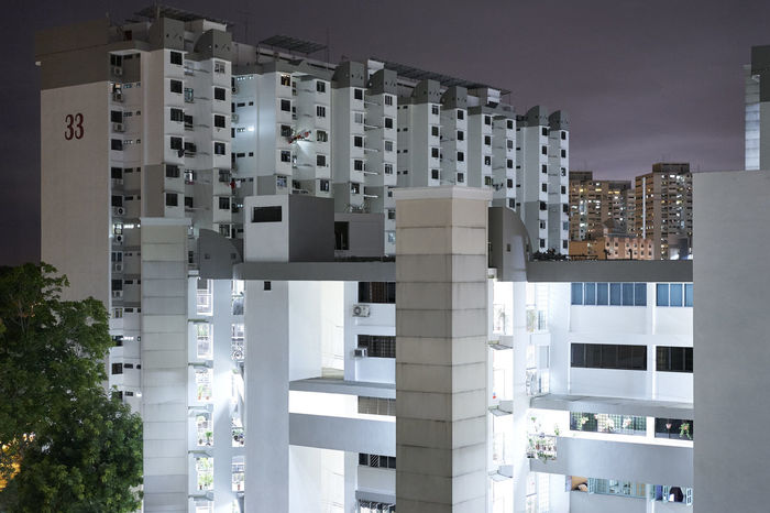View from my other bedroom East Coast Apartment Architecture At Night Building Building Exterior Built Structure City City Life City Life Development Dusk HD Illuminated Marine Park Modern Public Housing Residential Building Residential District Residential Structure Singapore Skyline Urban Urban Skyline Window