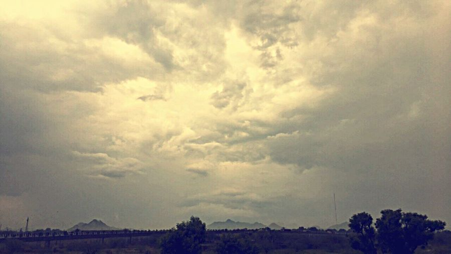 Cloud - Sky Nature Weather Beauty In Nature Tree Outdoors Landscape Storm Cloud Mountain View Rain EyeEm Nature Lover EyeEmNewHere