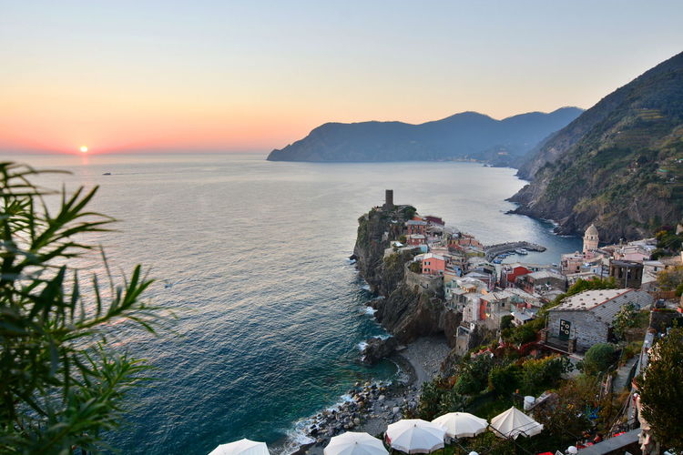 Vernazza at sunset, Cinque Terre. Italy 5terre Bella Vernazza Bellitalia Cinque Terre Cinque Terre Liguria Cliff Coastline EyeEm Italy EyeEm Liguria High Angle View Italy Italy❤️ Landscape_Collection Landscape_photography Liguria Liguriansea Monterosso Outdoors The Great Outdoors - 2016 EyeEm AwardsSunset Sunset_collection Travel Photography Travelphotography Vernazza The Great Outdoors With Adobe