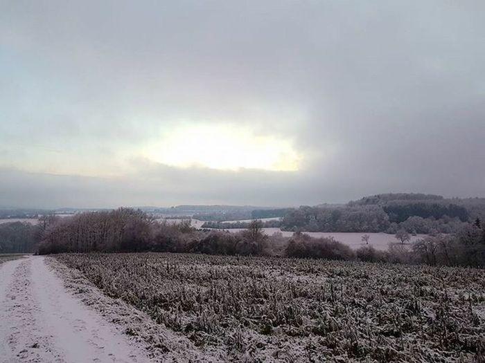 Saarland Homburg Snow Dorfkind