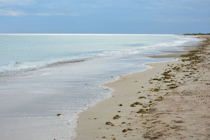 Beach Beauty In Nature Day Horizon Over Water Nature No People Outdoors Sand Scenics Sea Shore Sky Torre San Giovanni Tranquil Scene Tranquility Ugento Water