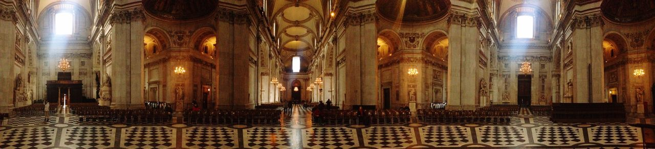 London St Pauls Cathedral Church Religion Relaxing Panorama