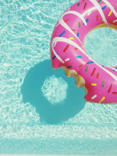 Swimming Pool Water Day Outdoors Vacations Sun Donuts