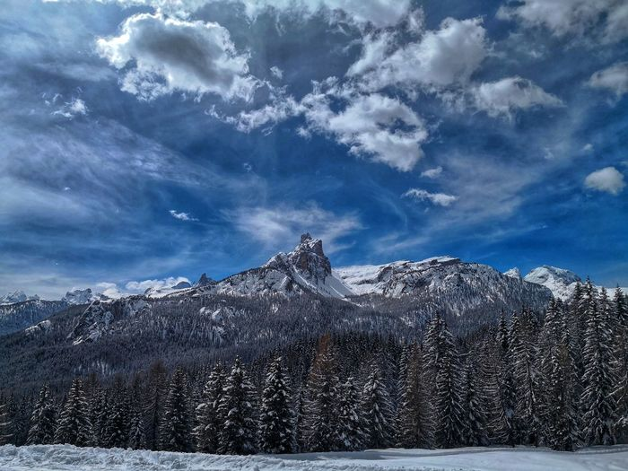 Cloud - Sky Clouds And Sky Snow Mountain Cold Temperature Winter Bird Snowing Sky Cloud - Sky Snowcapped Mountain Mountain Peak Rocky Mountains Mountain Range Ski Lift Deep Snow