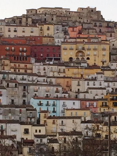 Colour Of Life Hause Multicolors  Southitaly Calitri City Skyline