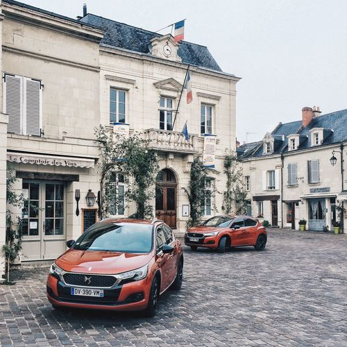 Citroen DS4 New DS4 Loire Valley Fontevraud Village