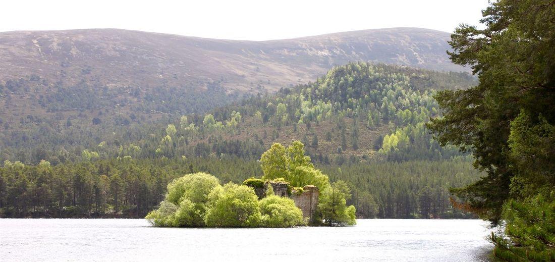 Scotland Scottish Highlands Nature Scenery Loch An Eilein