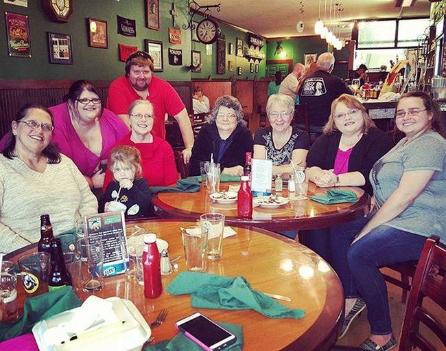 Fun fun birthday dinner with Becky!