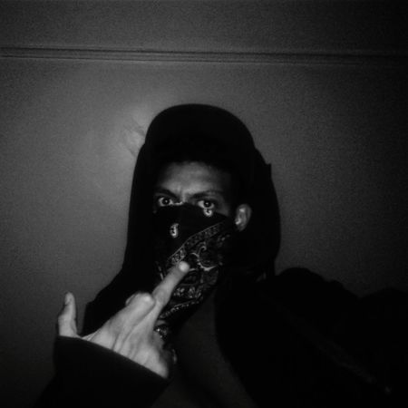 Darkness & Cribz flag HipHop Rapper Oldschool Cribs OutLaw First Eyeem Photo