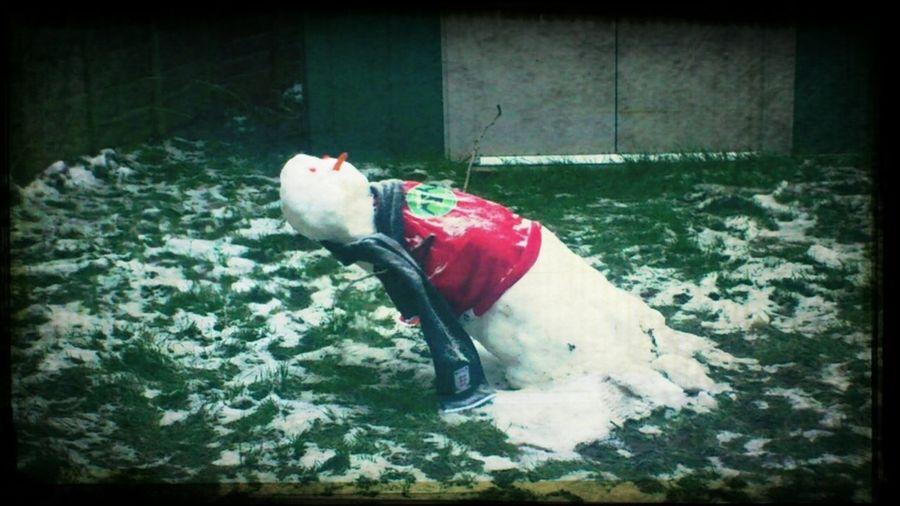 matrix snowman!