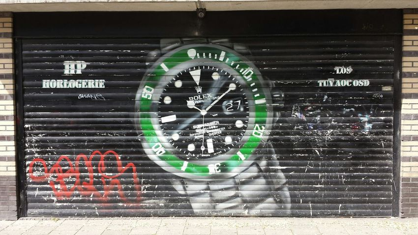 De Jordaan Graffiti Streetphotography Streetart Check This Out The Purist (no Edit, No Filter) Amsterdam Rolex Submariner Watches
