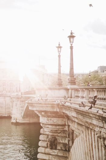 EyeEm Selects Architecture Built Structure Building Exterior Sky Travel Destinations Water Architectural Column Lens Flare No People History Building Outdoors The Past Sunlight Travel City Day Tourism Nature River