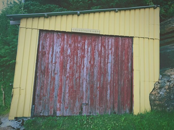 """Capturing strange looking buildings by camera at""""Rødøy,"""" Norway Architecture Outdoors No People Day Built Structure Building Exterior Corrugated Iron Close-up 12MP"""