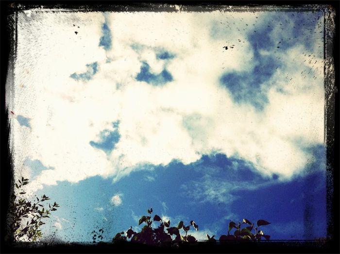 Eind oktober, schitterend herfstweer. Clouds Sky My World Mooie Luchten