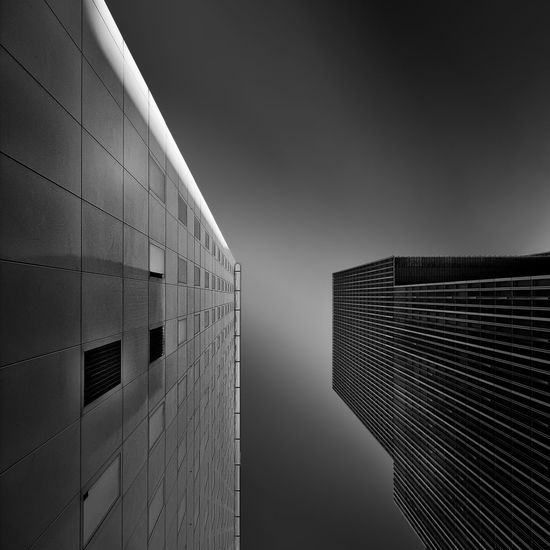 Architecture Building Built Structure City High Section Low Angle View Modern No People Office Building Outdoors Sky Tall - High The Architect - 20I6 EyeEm Awards Market Reviewers' Top Picks