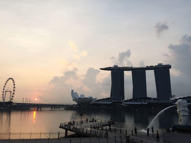Good morning Singapore EyeEm Best Shots Travel Photography Traveling Bestoftheday Photooftheday Singapore Landmark VSCO Travel Cityscapes