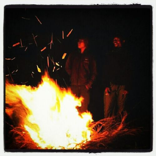 Enjoying Life Bonfire Nature Lover