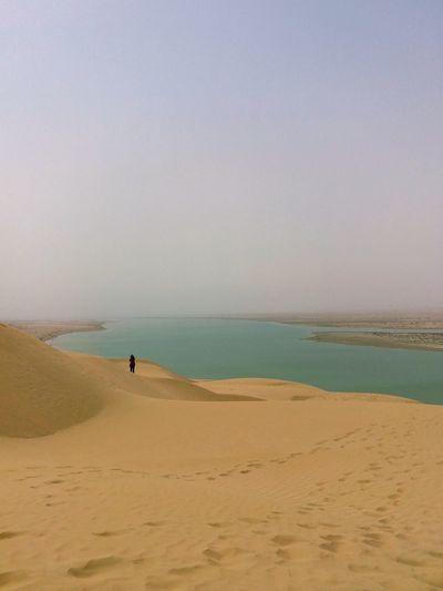 EyeEm Best Shots EyeEmNewHere EyeEm Selects Water Sand Dune Sea Beach Clear Sky Wave Full Length Sand Coastline Sky