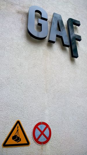 Gaf Galerie Für Fotografie Sign