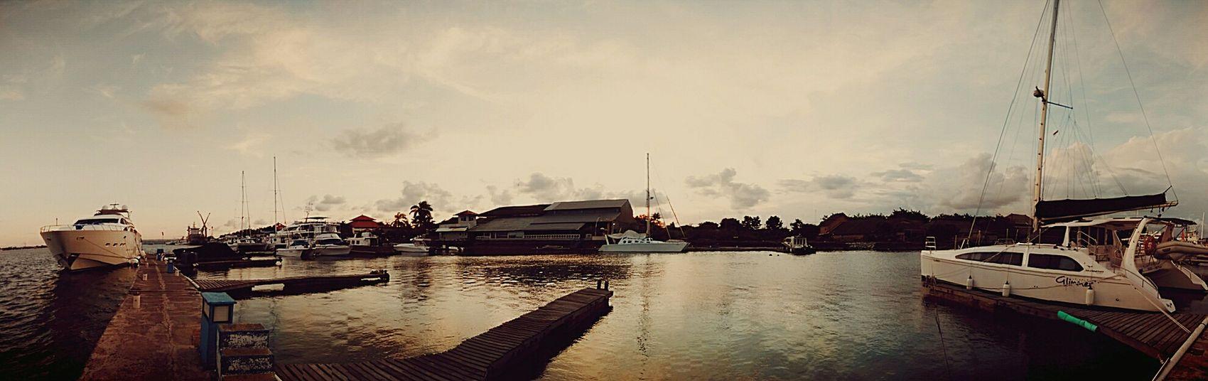 My escape Bali repicture travel Marina Boats Sunset RePicture Travel