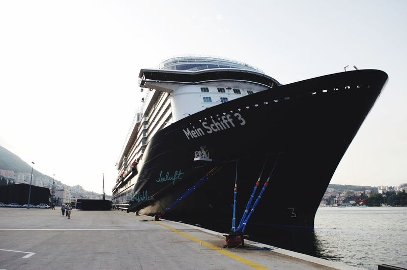 Meinschiff3 Sky Architecture Built Structure Nature Water Day Clear Sky Incidental People Sea Travel Nautical Vessel Travel Destinations Transportation Street City Building Exterior Men Outdoors Mode Of Transportation
