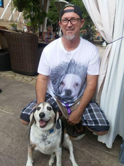 Dogslife Dog Love Dad And Dog Tucker Einstien LookAlikes Eye4photography  Santee Ca
