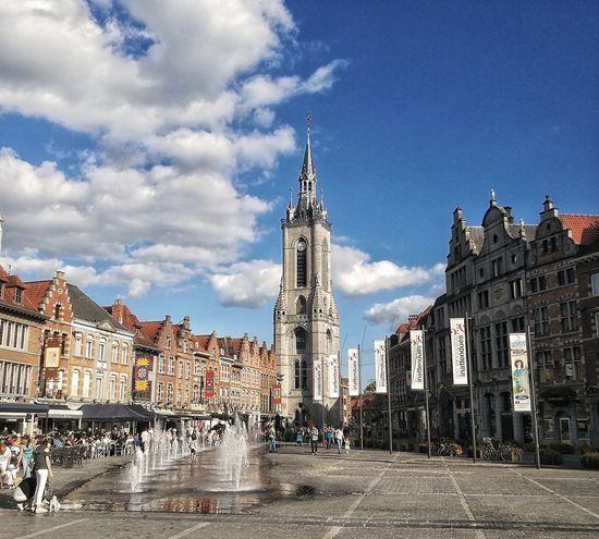 Architecture Built Structure Sky Outdoors Tournai