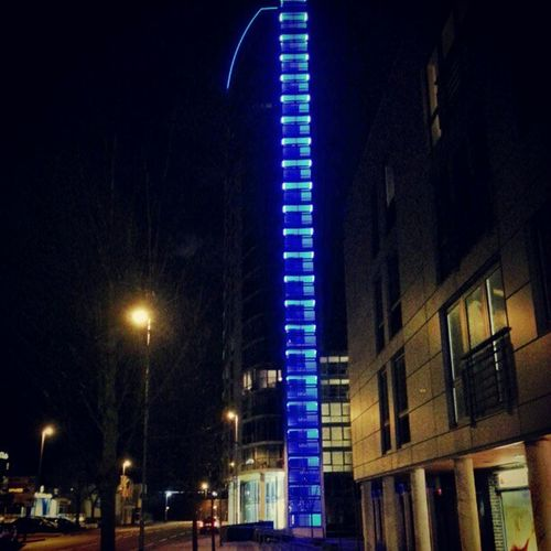 Home sweet home after an amazing gym session from 10 till 1.30am! AdmiraltyTower BeautifulLights FeelGuuud PainKnockingOnDoor